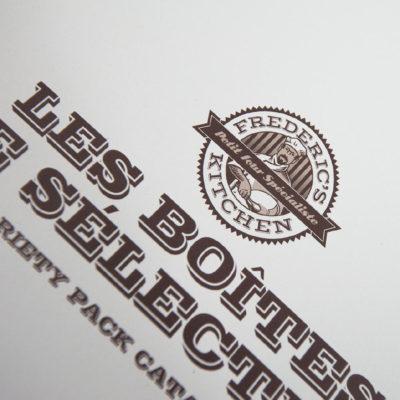Frederic's Kitchen branding