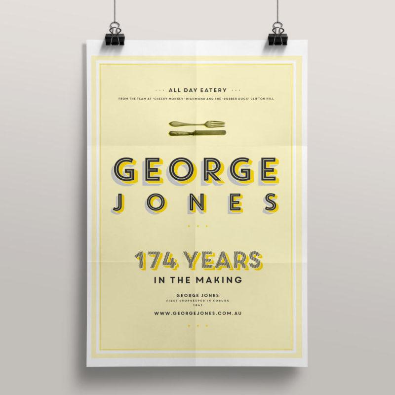 George Jones marketing material