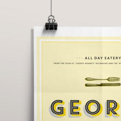 George Jones flyer